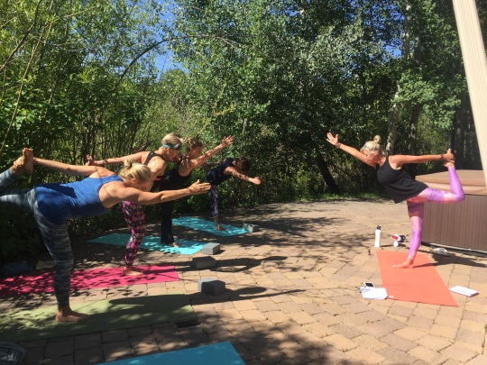 Our yoga retreat